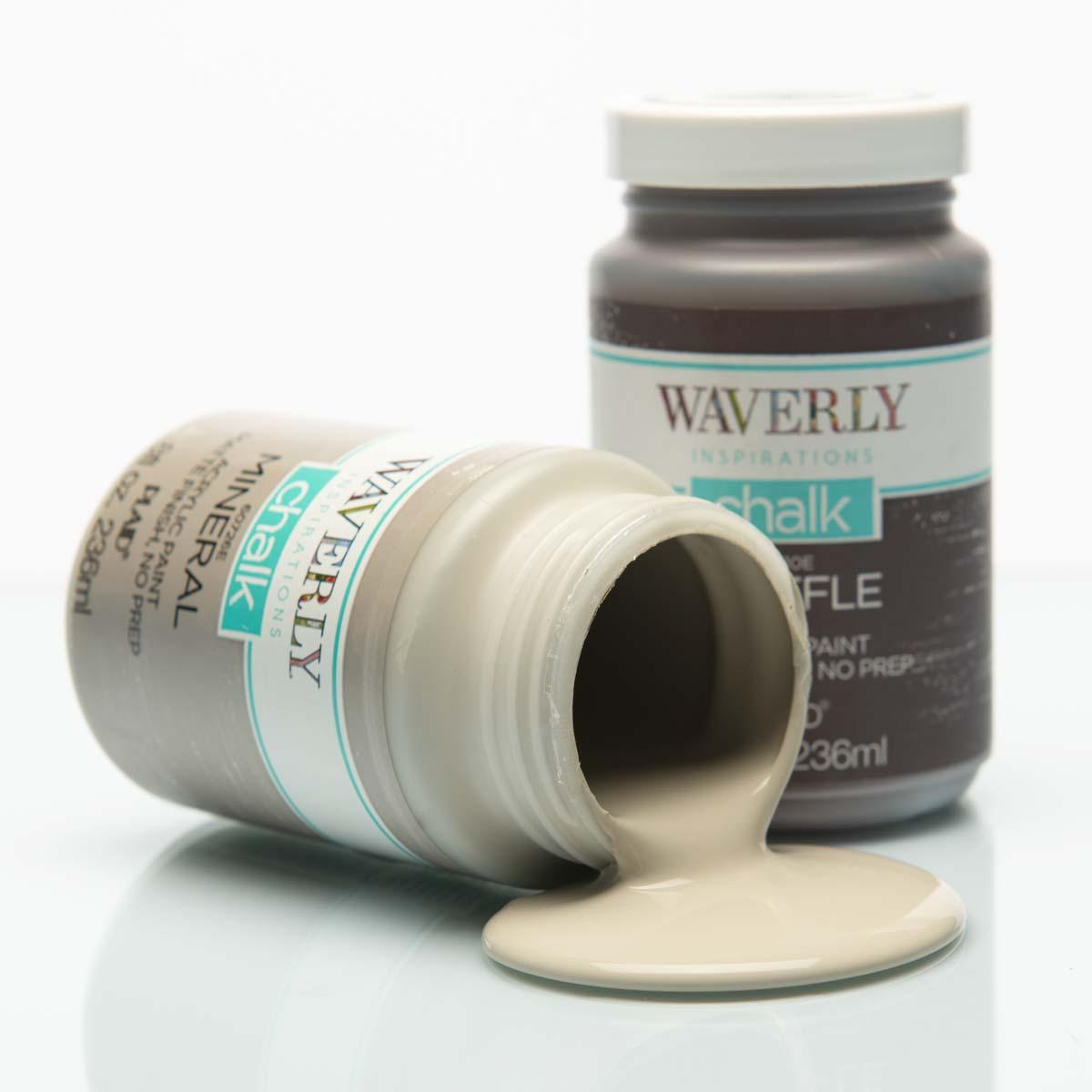 Waverly ® Inspirations Chalk Finish Acrylic Paint Set - Grays, 3 pc. - 13406