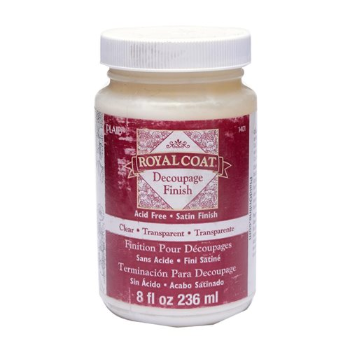 Royal Coat ® Decoupage Finishes - Clear, 8 oz.