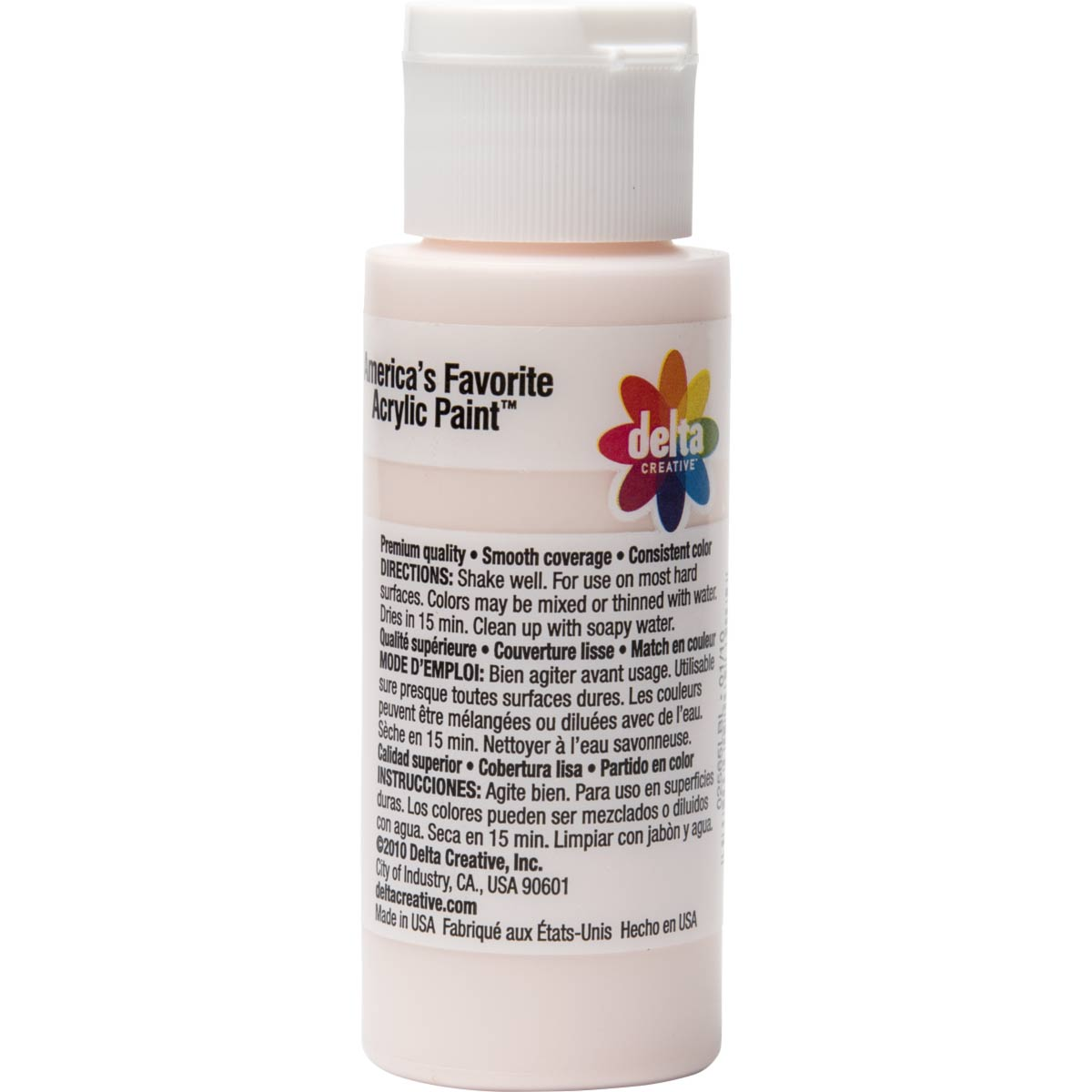 Delta Ceramcoat ® Acrylic Paint - Touch O' Pink, 2 oz.