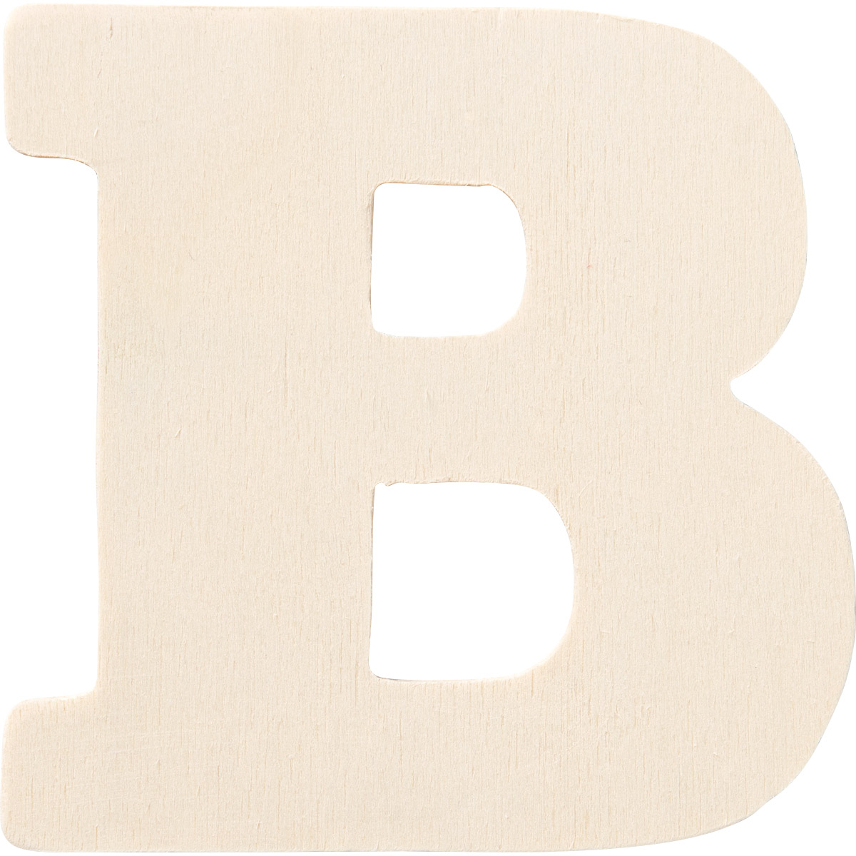 Plaid ® Painter's Palette™ Wood Letter - B. 4 inch