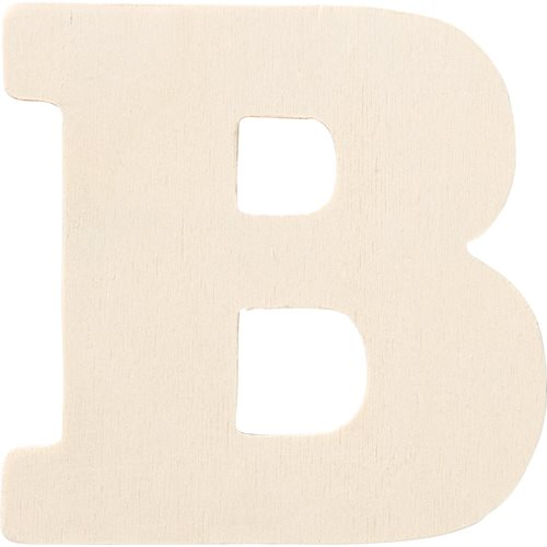 Plaid ® Painter's Palette™ Wood Letter - B. 4 inch - 23791