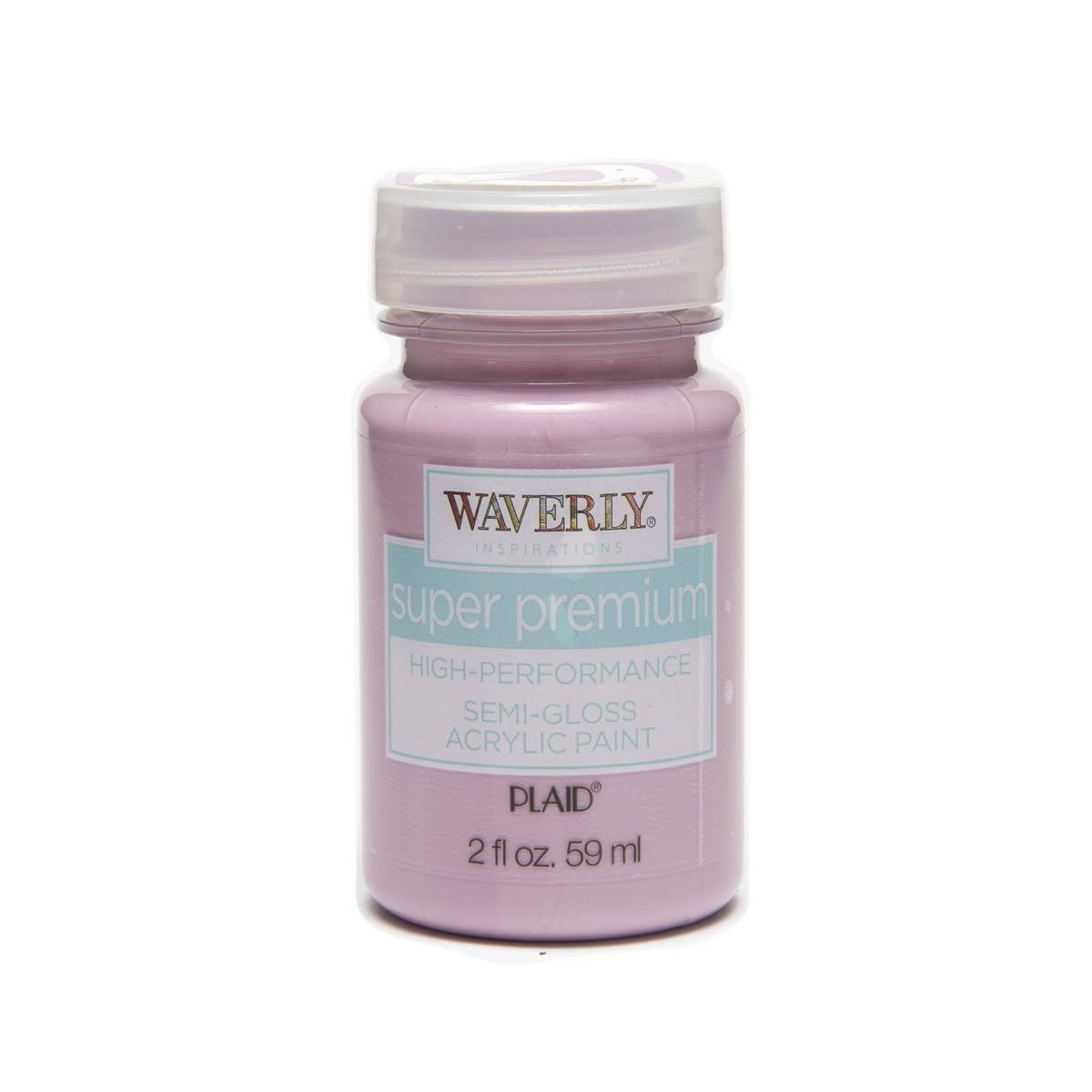 Waverly ® Inspirations Super Premium Semi-Gloss Acrylic Paint - Orchid, 2 oz.