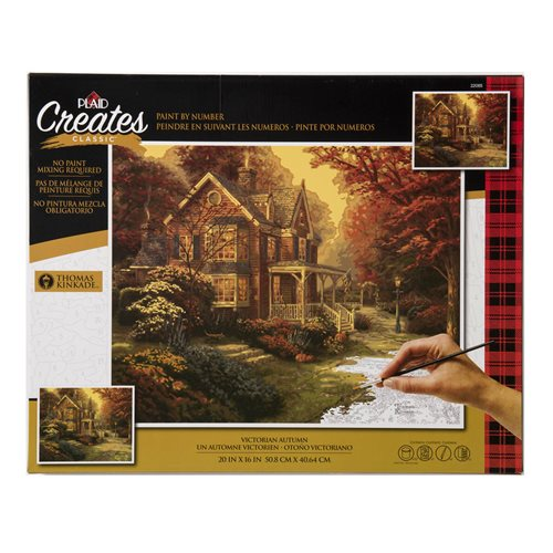 Plaid ® Paint by Number - Thomas Kinkade™ - Victorian Autumn