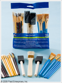 Plaid ® Brush Sets - Super Value Pack