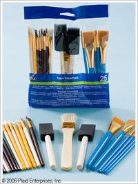 Plaid ® Brush Sets - Super Value Pack