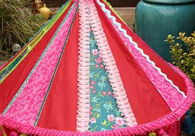 Boho Kids Backyard Tent