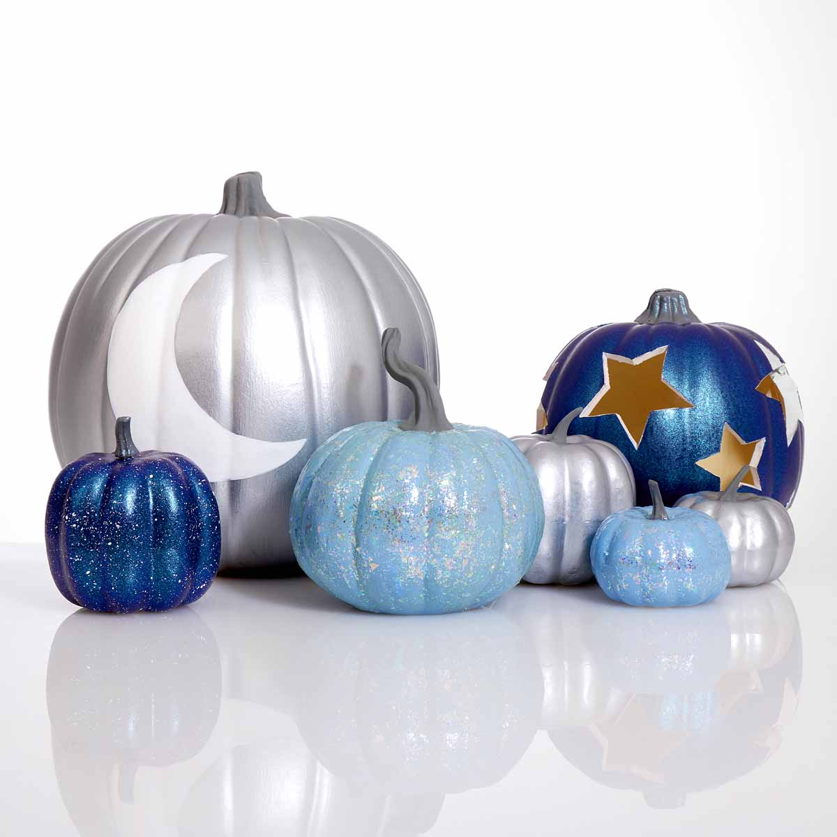 Galaxy Pumpkins