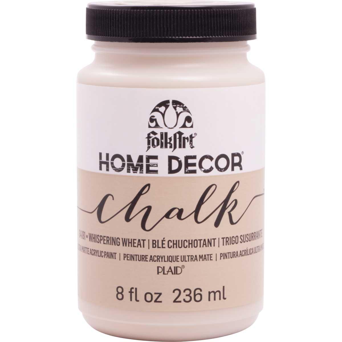 FolkArt ® Home Decor ® Chalk - Whispering Wheat, 8 oz.