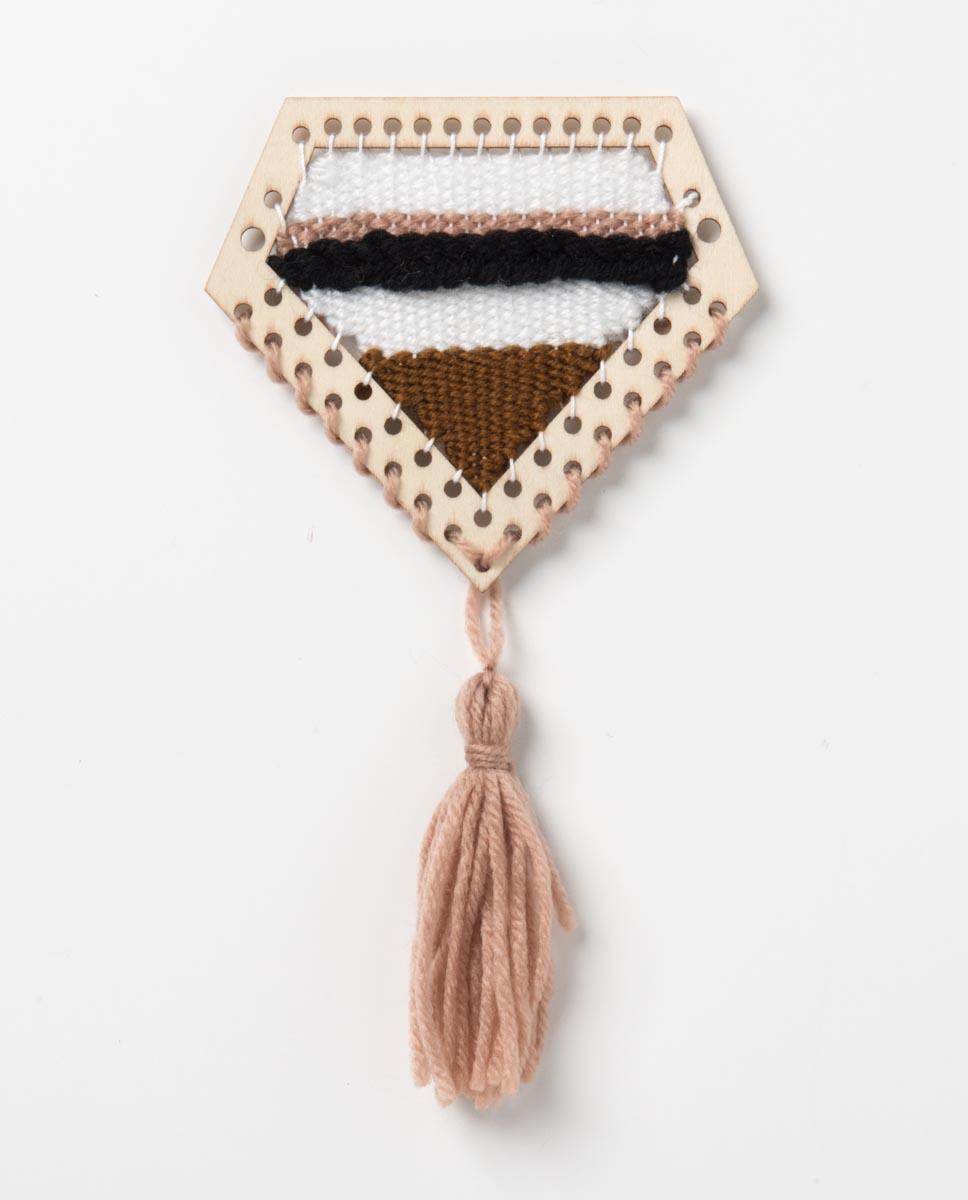 Bucilla ® Weave It n' Leave It™ Modern Diamond Loom - 49026E