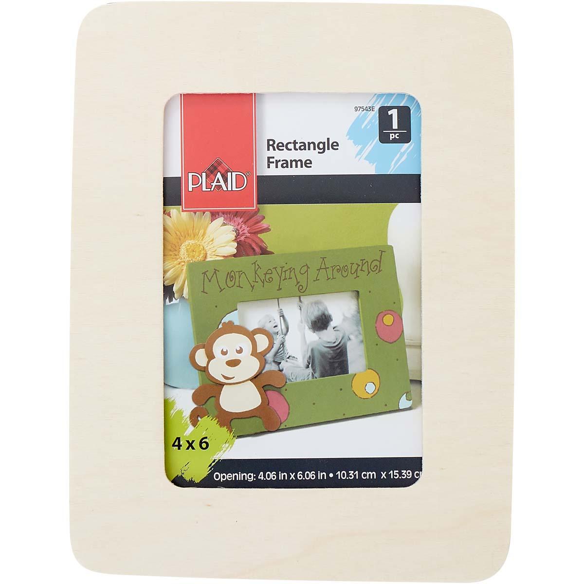 Plaid ® Wood Surfaces - Frames - Rectangle - 97543