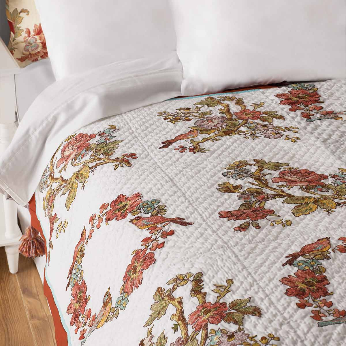 Bucilla ® Waverly ® Charleston Chirp Collection Stamped Quilt Blocks - 47767