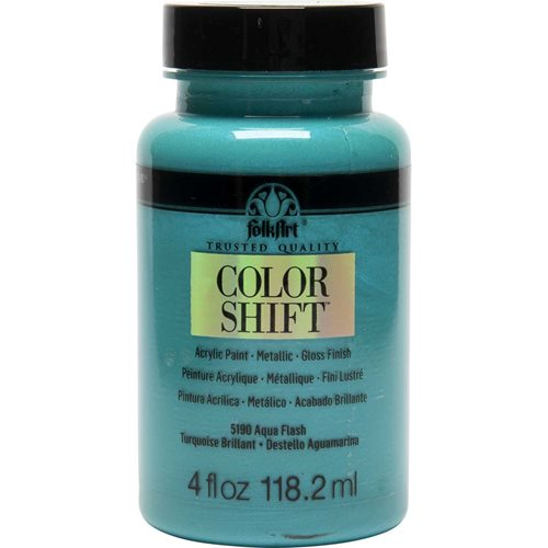 FolkArt ® Color Shift™ Acrylic Paint - Aqua Flash, 4 oz.