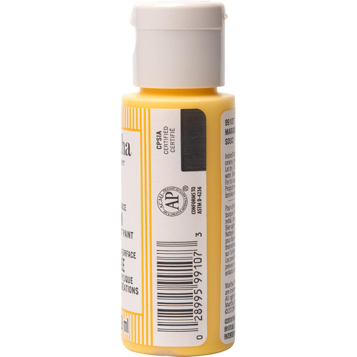 Martha Stewart® 2oz Multi-Surface Satin Acrylic Craft Paint - Marigold