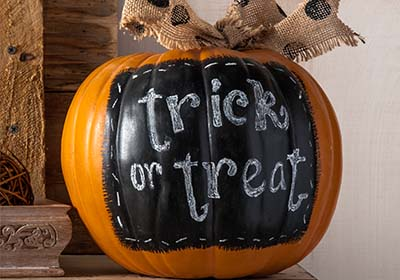 Chalkboard Label Pumpkin