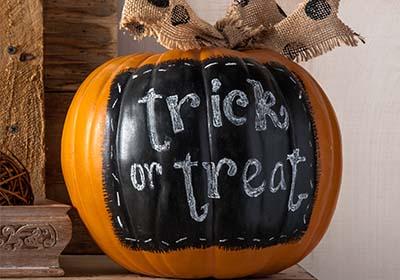 Chalkboard Label Pumpkin