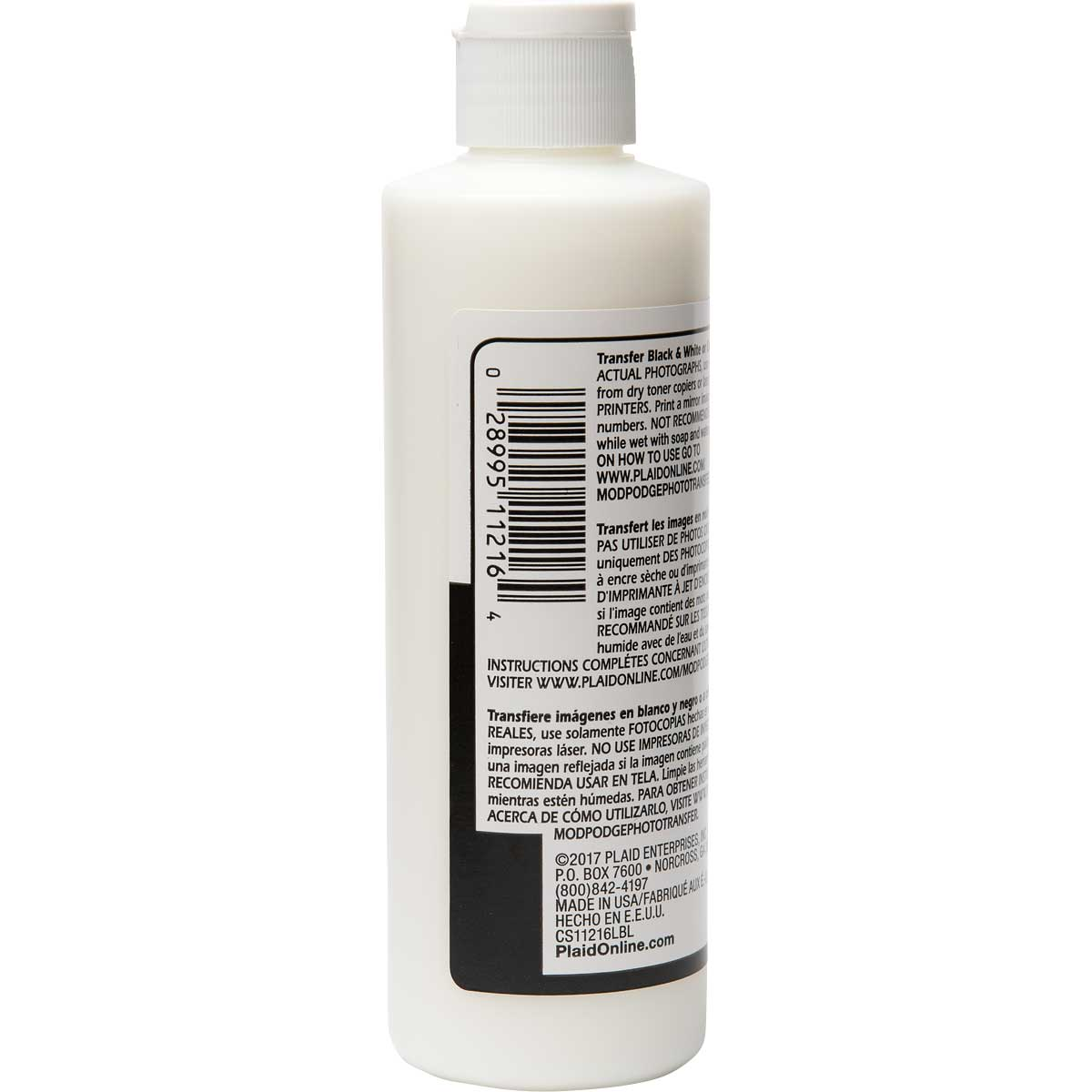 Mod Podge ® Image Transfer Medium Clear, 8 oz.