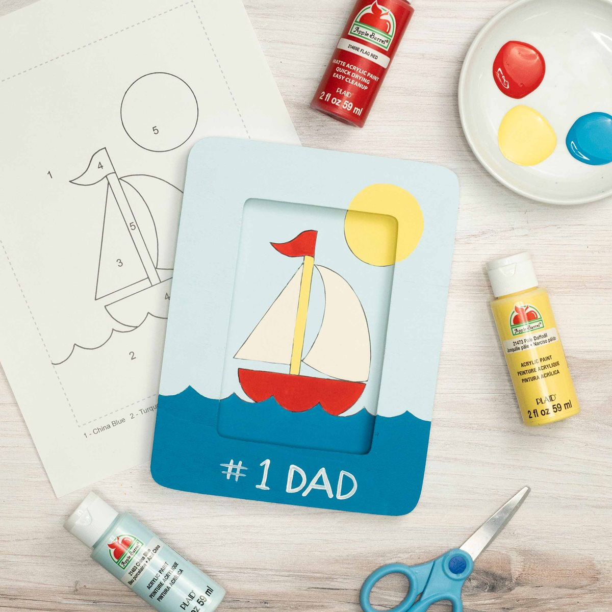 Father's Day Sailboat