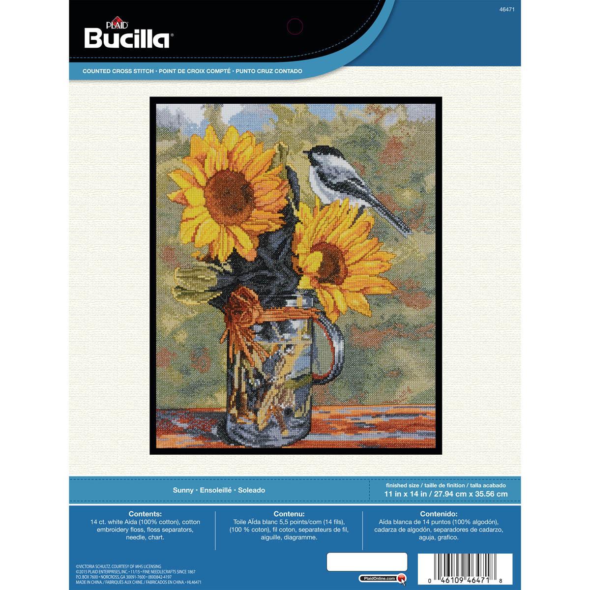 Bucilla ® Counted Cross Stitch - Picture Kits - Sunny