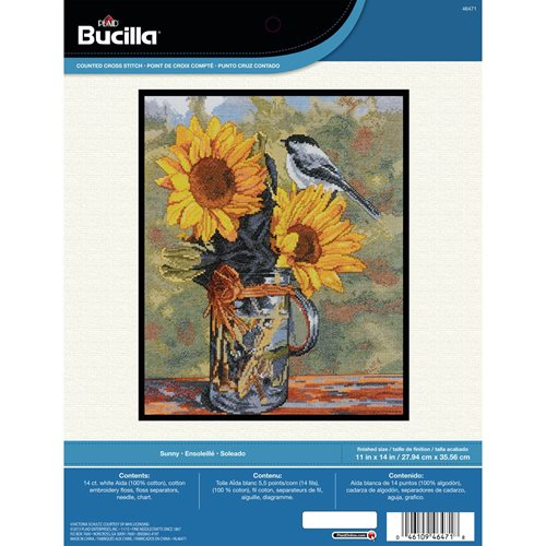 Bucilla ® Counted Cross Stitch - Picture Kits - Sunny