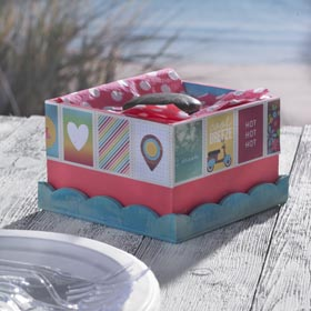 Personalized Napkin Holder for Summer