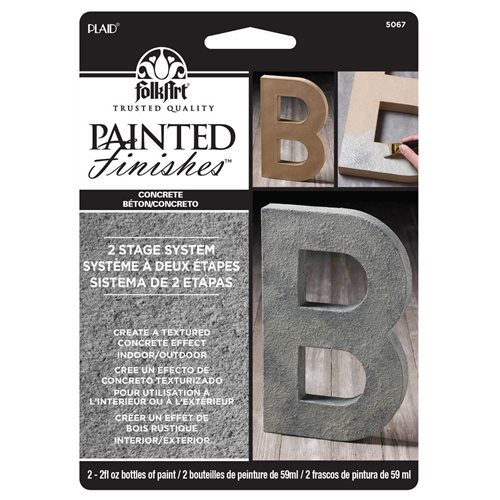 FolkArt ® Painted Finish Kit - Concrete