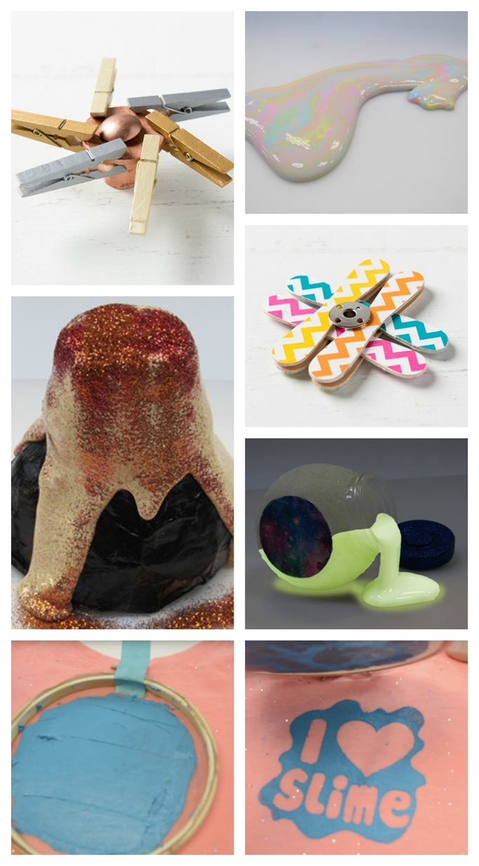 12 Summer DIY Ideas: Slime, Spinners and Silkscreening!