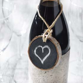 Unique Wedding Favors - Chalkboard Ornaments