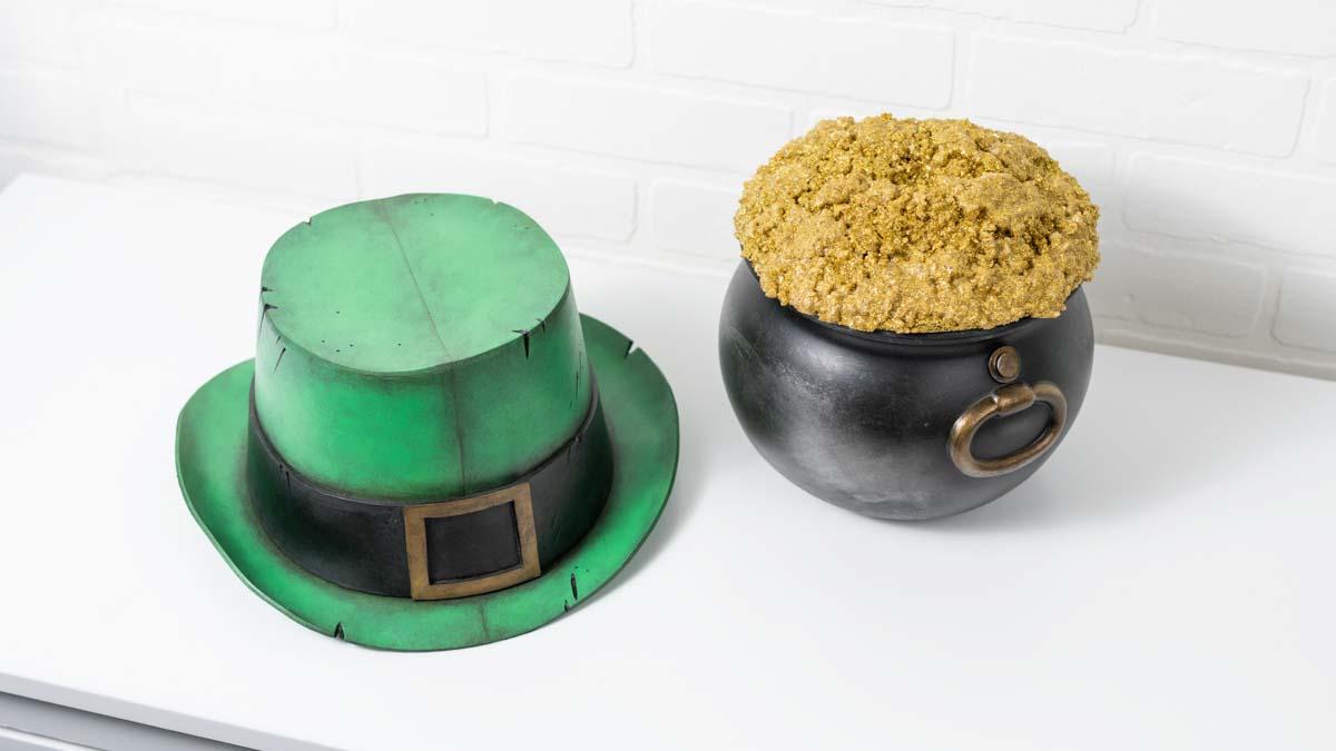 DIY Leprechaun Hat and Pot o' Gold