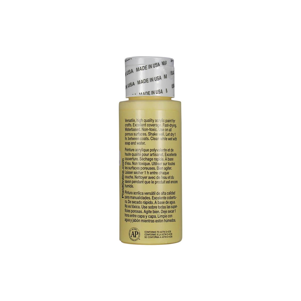 Apple Barrel ® Colors - Lemon Chiffon, 2 oz. - 20584