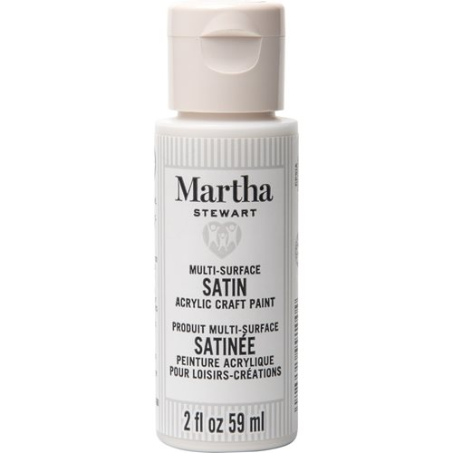 Martha Stewart ® Multi-Surface Satin Acrylic Craft Paint CPSIA - Tutu, 2 oz.