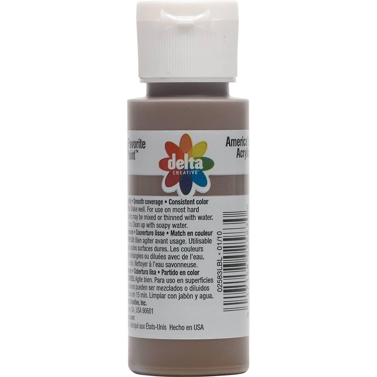 Delta Ceramcoat ® Acrylic Paint - Espresso, 2 oz. - 025830202W