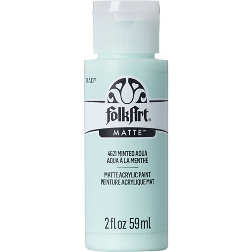 FolkArt ® Acrylic Colors - Minted Aqua, 2 oz.