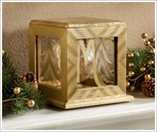 Golden Shadow Box