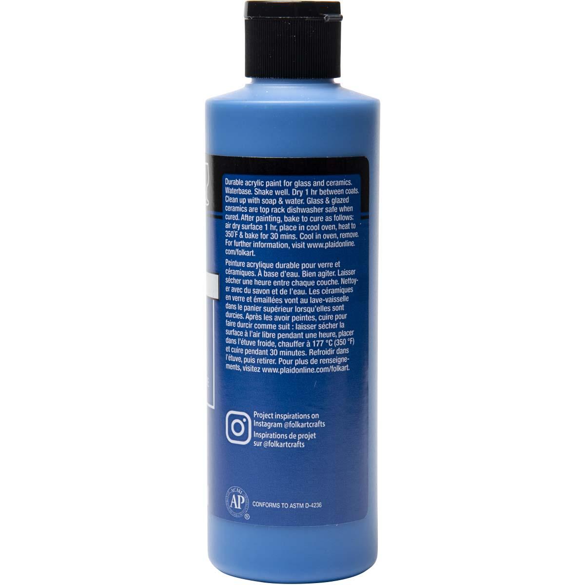 FolkArt ® Enamels™ - True Blue, 8 oz. - 7156
