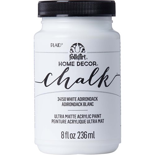 FolkArt ® Home Decor™ Chalk - White Adirondack, 8 oz.