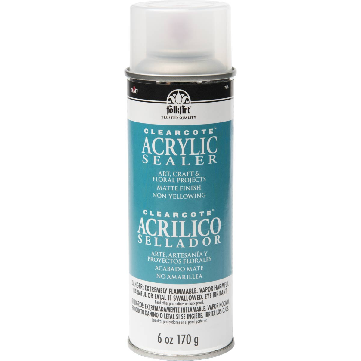 FolkArt ® Finishes - Clearcote™ Aerosol Acrylic Sealer - Matte, 6 oz.