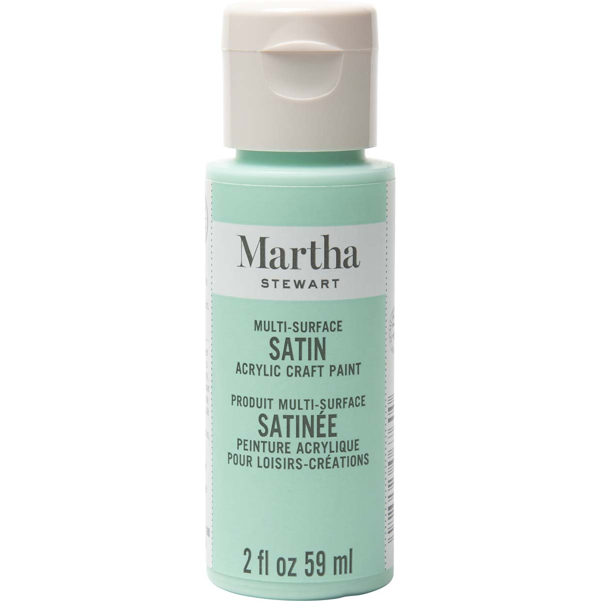 Martha Stewart ® Multi-Surface Satin Acrylic Craft Paint - Beach Glass, 2 oz.