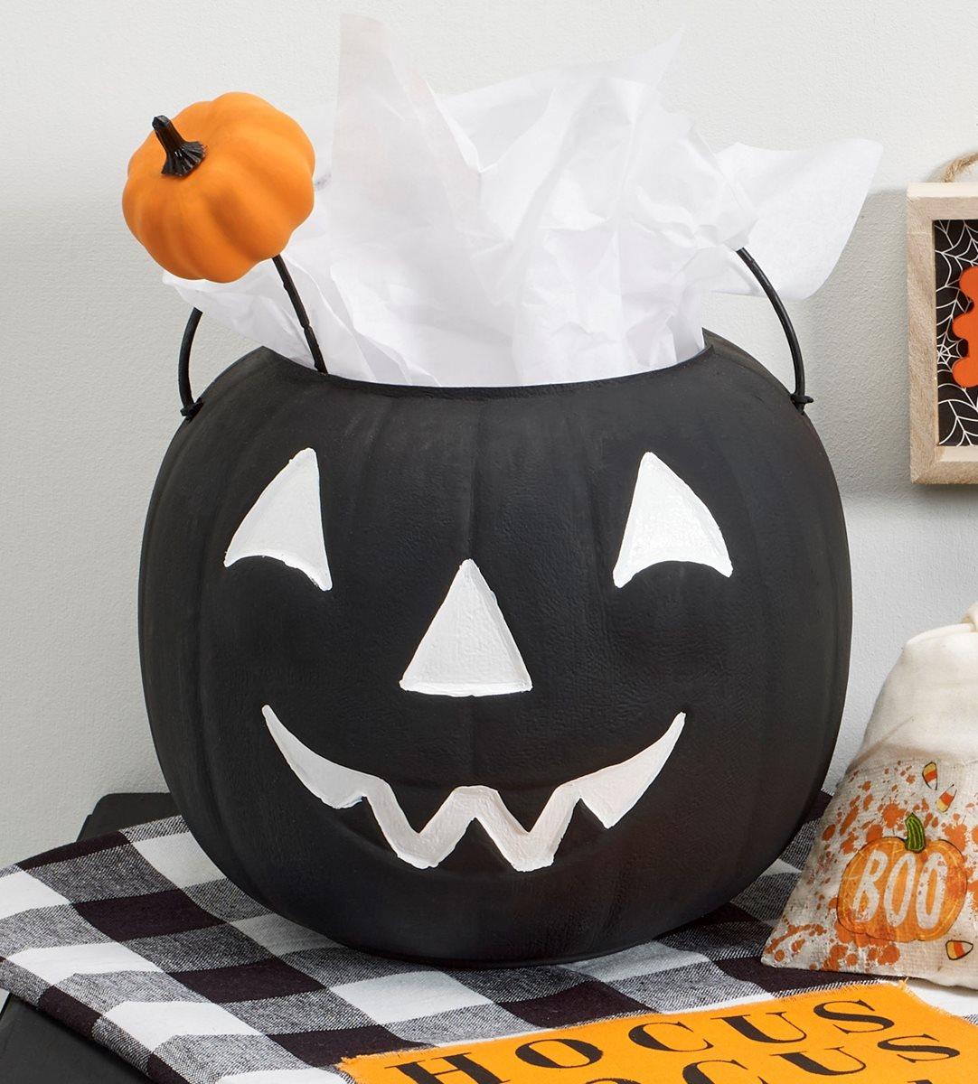 BOO Pumpkin Gift Bucket