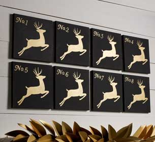 Reindeer Wall Canvases