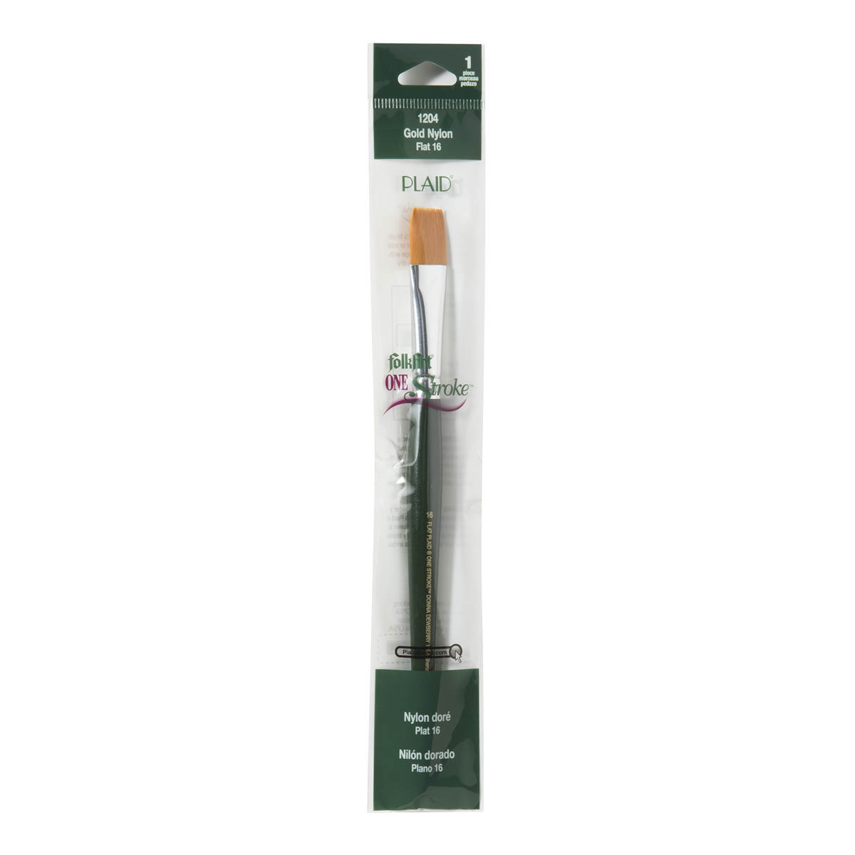 FolkArt ® One Stroke™ Brushes - Flat, #16