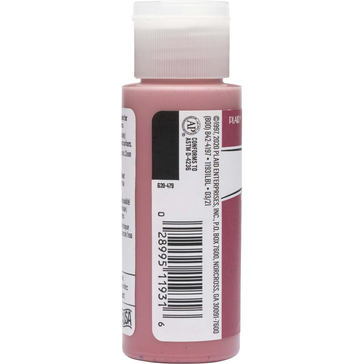 FolkArt ® Acrylic Colors - Wild Rose, 2 oz. - 11931