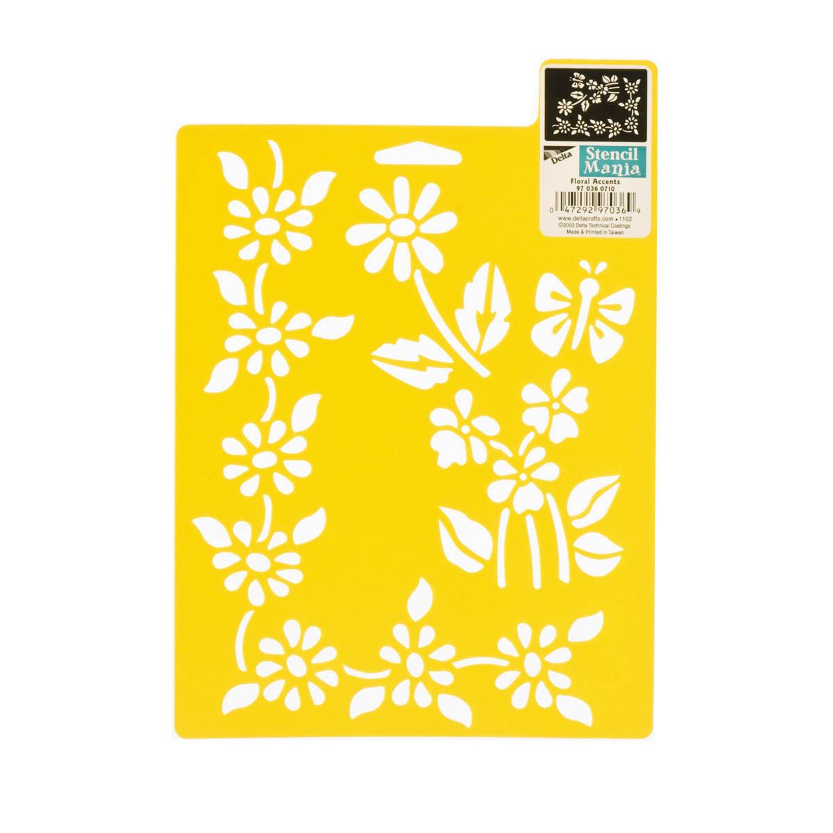 Delta Stencil Mania™ - Floral Accents