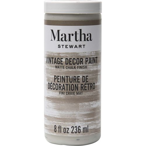 Martha Stewart ® Vintage Decor Matte Chalk Acrylic Paint - Clay, 8 oz.