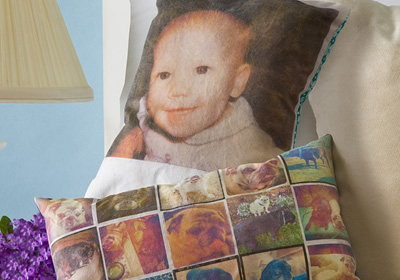 Mod Podge® Mother's Day Photo Pillows