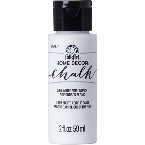 FolkArt ® Home Decor™ Chalk - White Adirondack, 2 oz. - 5936
