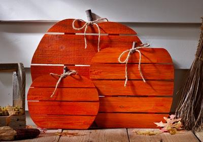 Pumpkin Pallet Decor