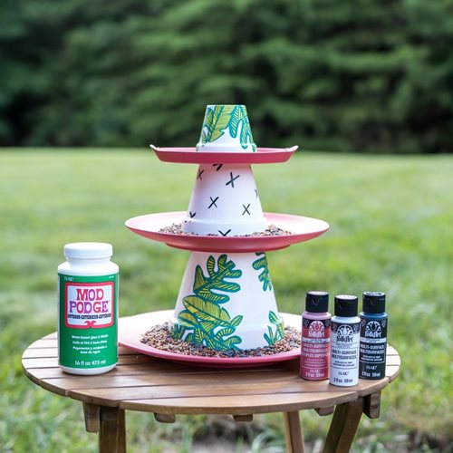 DIY Bird Feeder with Mod Podge Outdoor