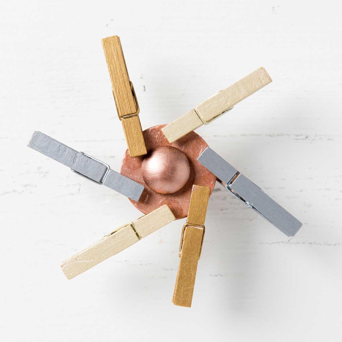 DIY Fidget Spinner with Brushed Metal