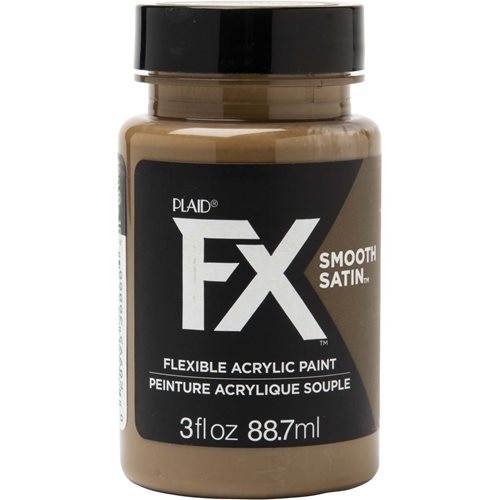 PlaidFX Smooth Satin Flexible Acrylic Paint - Grounded, 3 oz. - 36868