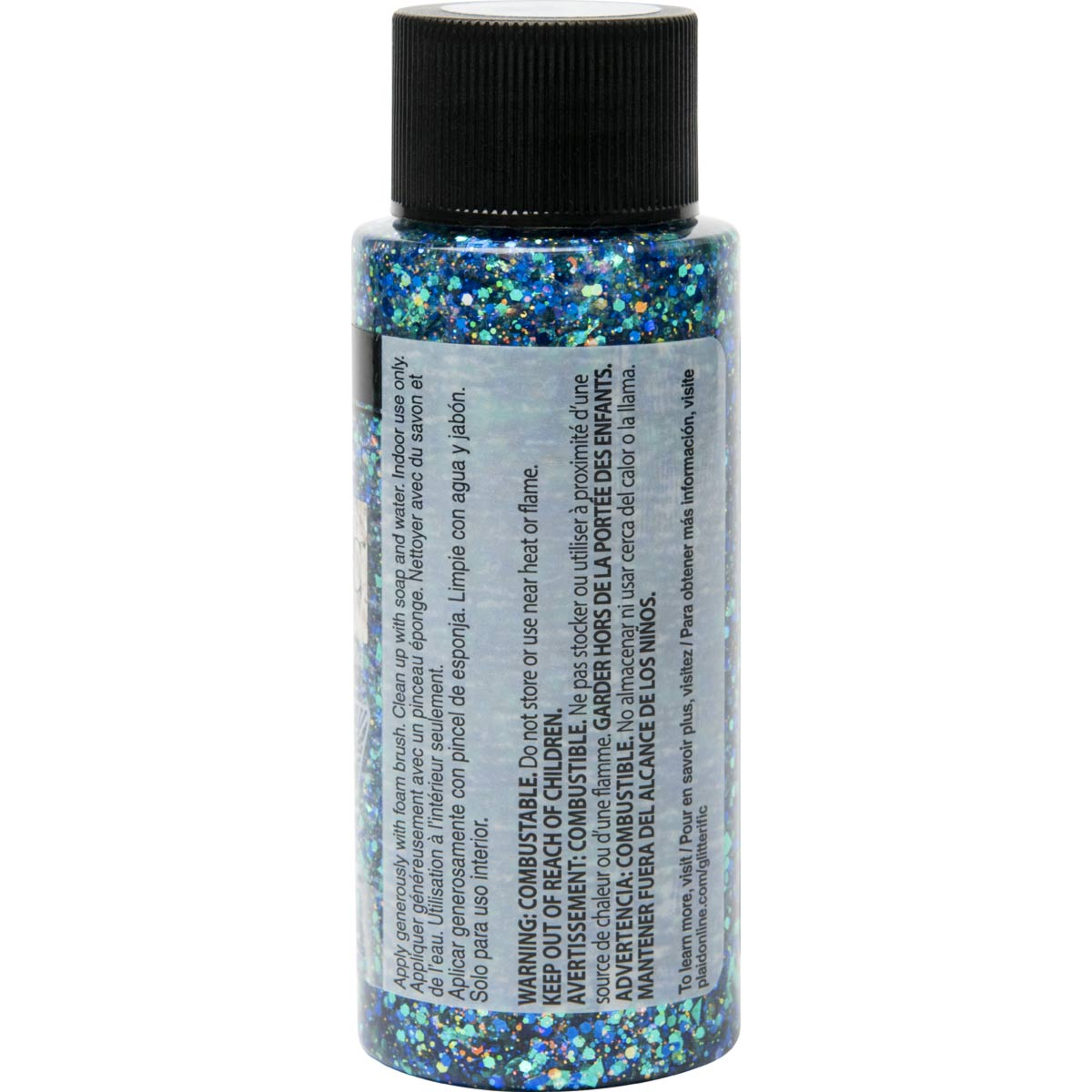FolkArt ® Glitterific™ Acrylic Paint - Tropical, 2 oz.